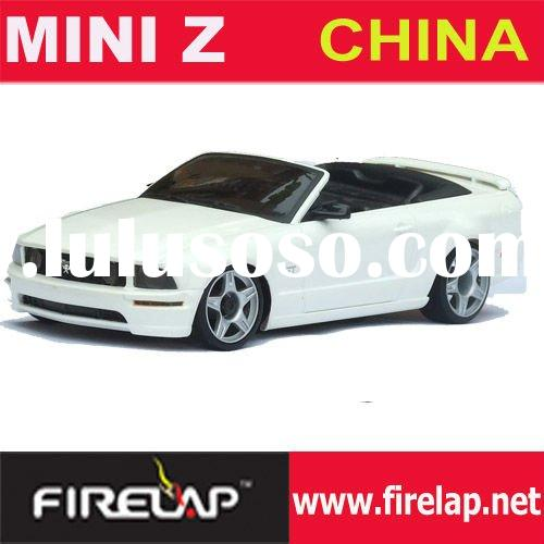 Mini-z 1/28TH scale 2wd brushless motor electric powered rc Cabriolet racing car