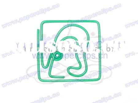 P043 office & school supplies fanncy Ear shaped paper clip