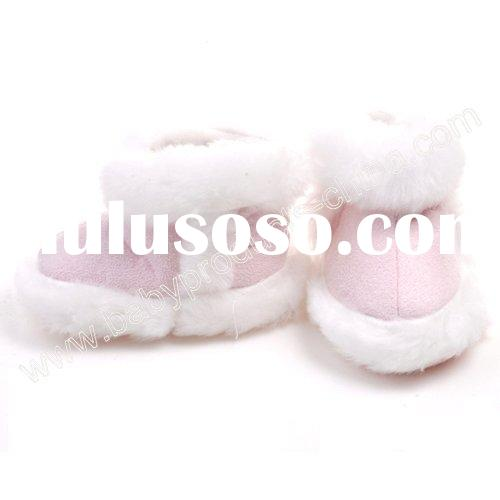 Pink Baby Boots with Fur Model:RE3012