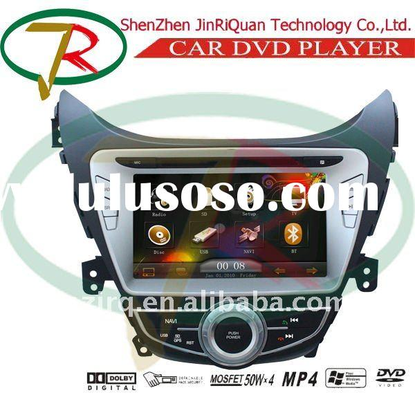 Portable 2 DIN SPECIAL CAR DVD PC for 2011 HYUNDAI ELANTRA NEW WITH BLUETOOTH DIGITAL TV GPS NAVIGAT