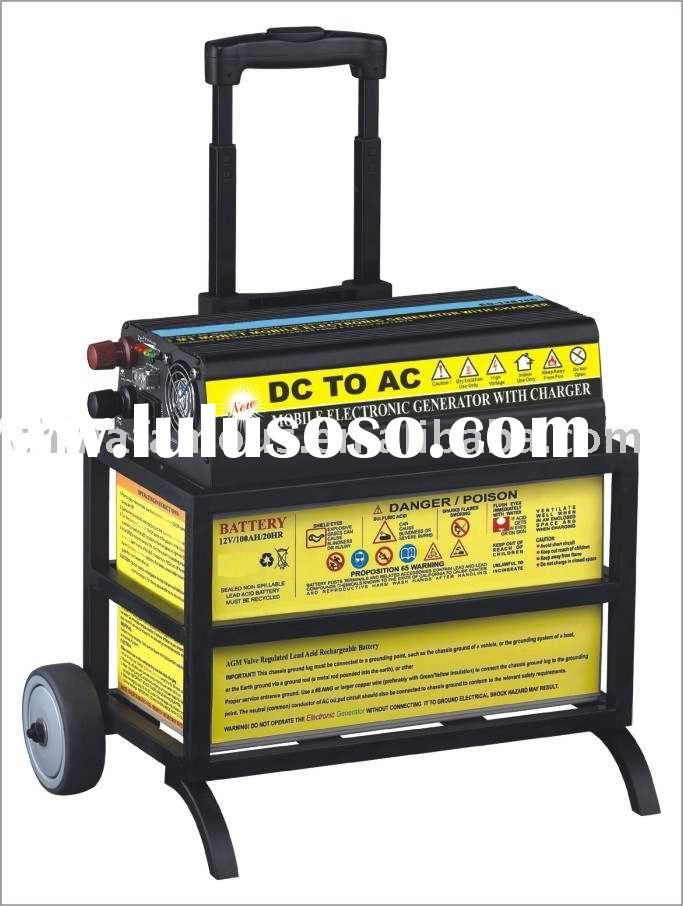 Power Station (1200W Power Inverter + 100Ah Battery) 220V/110V AC OUTPUT