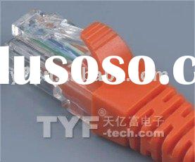 RJ45 CABLE CONNECTOR SHORT STYLE 8P8C 4/4 AA