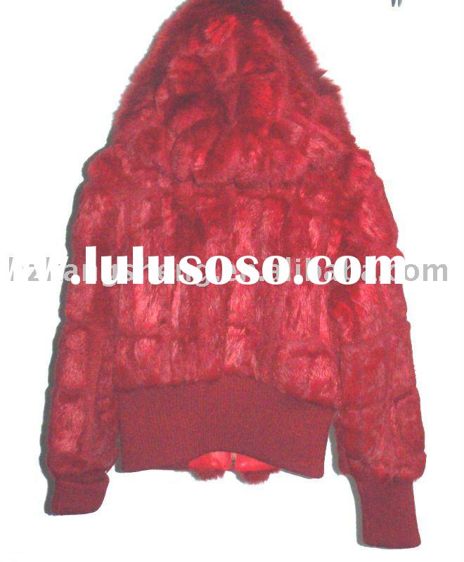 SELL lADIES FASHION RABBIT FUR JACKET
