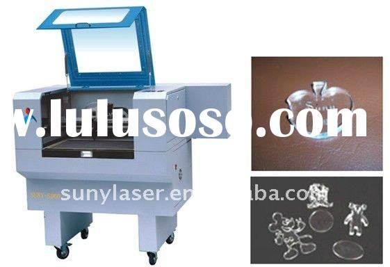 SUNY-960 High precision acrylic cutting engraving machine,laser cutter,laser engraver 50w
