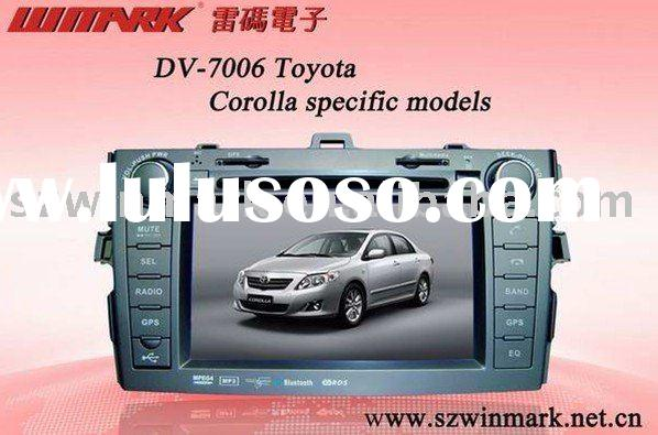 Special car entertainment system for Toyota corolla car gps dvd/Corolla specifical car gps