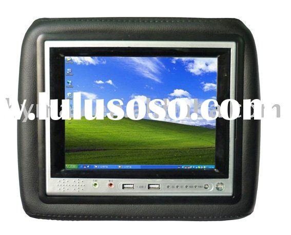 "TOUCH SCREEN MONITOR,CAR PC,7""Car HEADREST MONITOR WITH CAR PC AND VGA AND WIFI/BLUETOOTH"