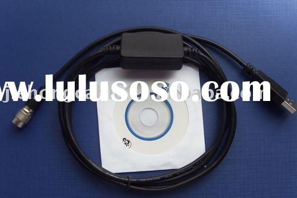 Topcon Total station data transfer USB cable (including usb to rs232 cable driver)