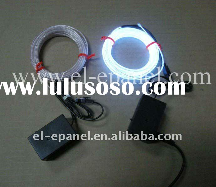 White EL Wire with 12V inverter
