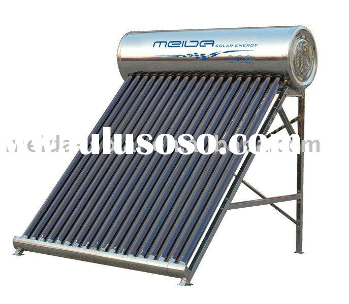 all stainless steel solar water heater--non pressurized