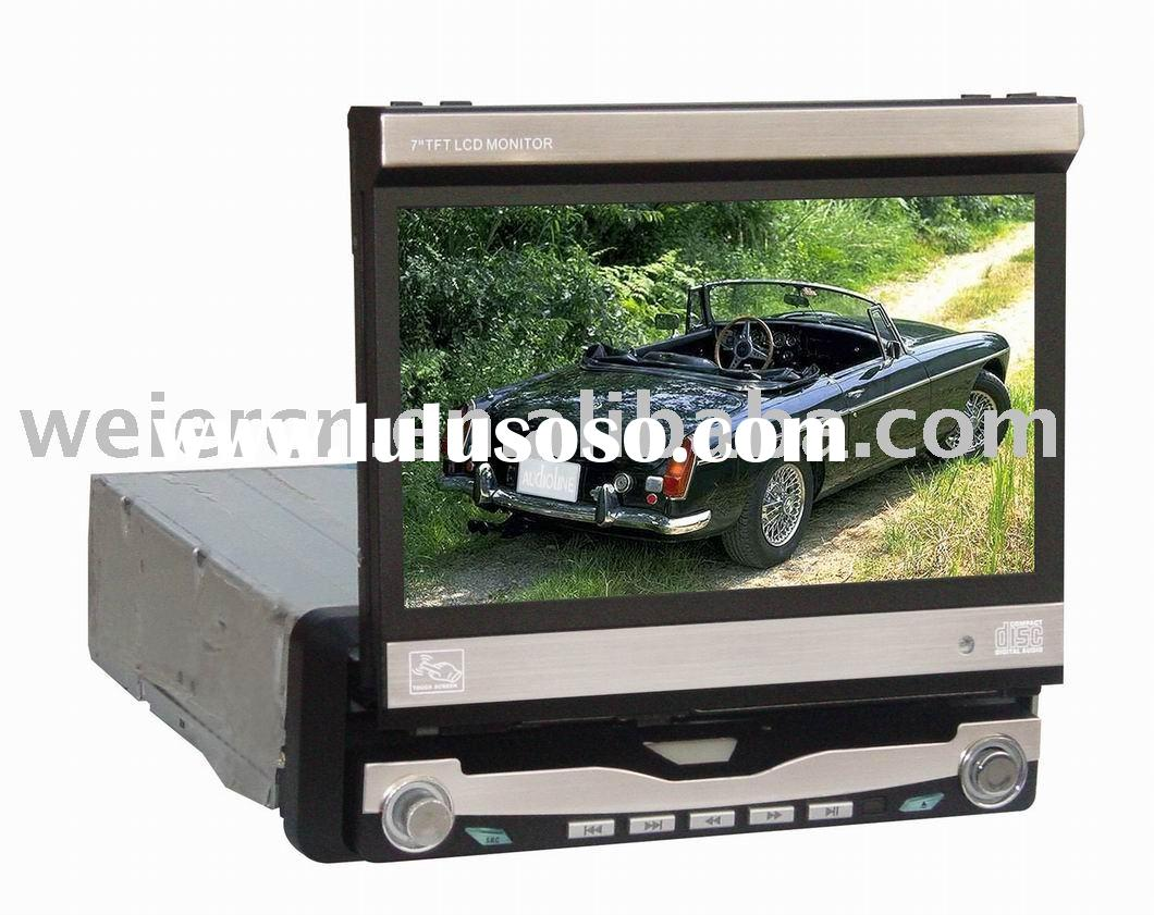 "car video, 7"" TFT LCD car DVD player in dash monitor"