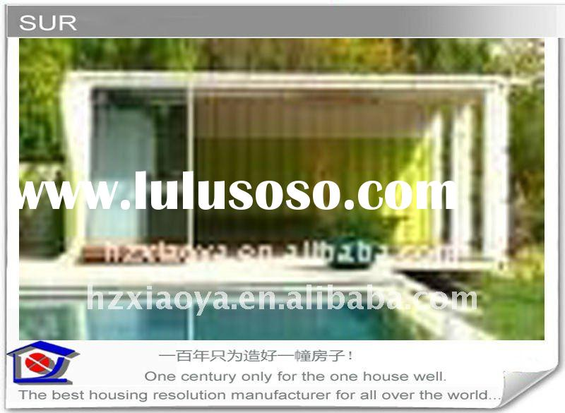 comfortable CE container sea side living house