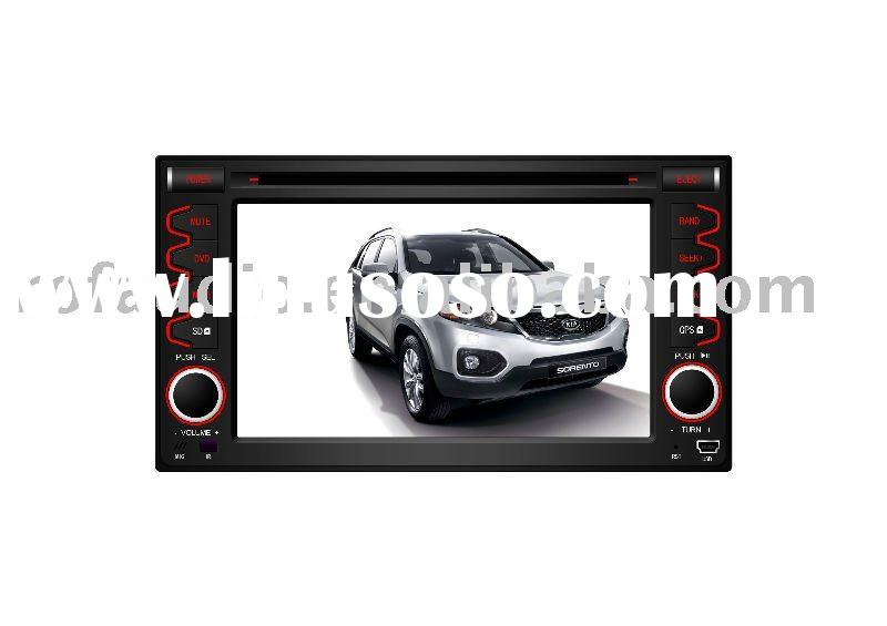 double din car dvd player gps navigation for 2010 kia cerato sorento