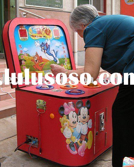 hammer video arcade game machine for children or adults in any play area