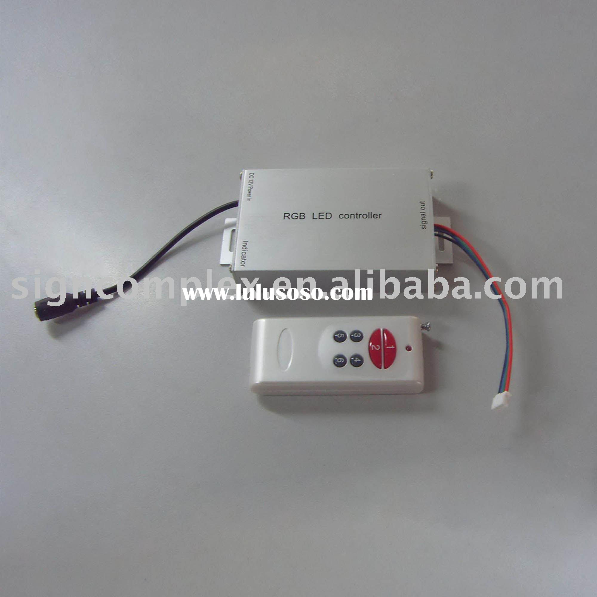 led controller ,rgb controller ,led light driver