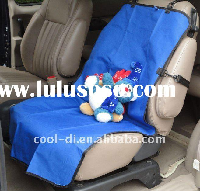 Striped Roll-Up Travel Pad/ Pet Car Seat Cover/ Seat Cover