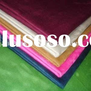polyester warp-knitted synthetic suede fabric for garment