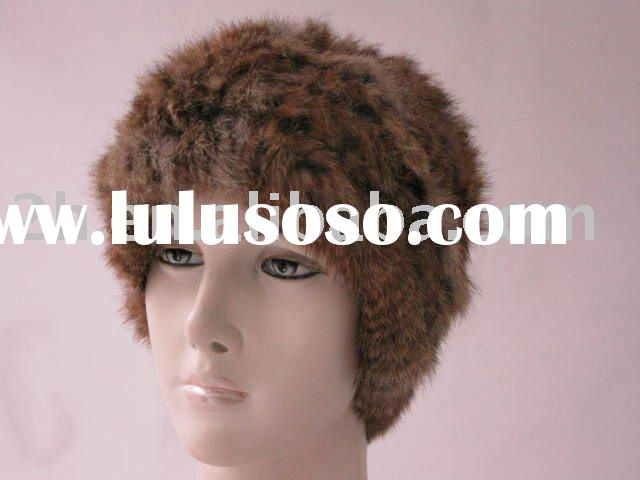 rabbit fur hat/cap MZ001