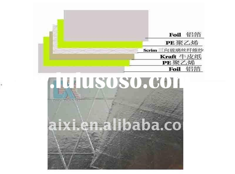 reflective heat resistant foil thermal insulation material