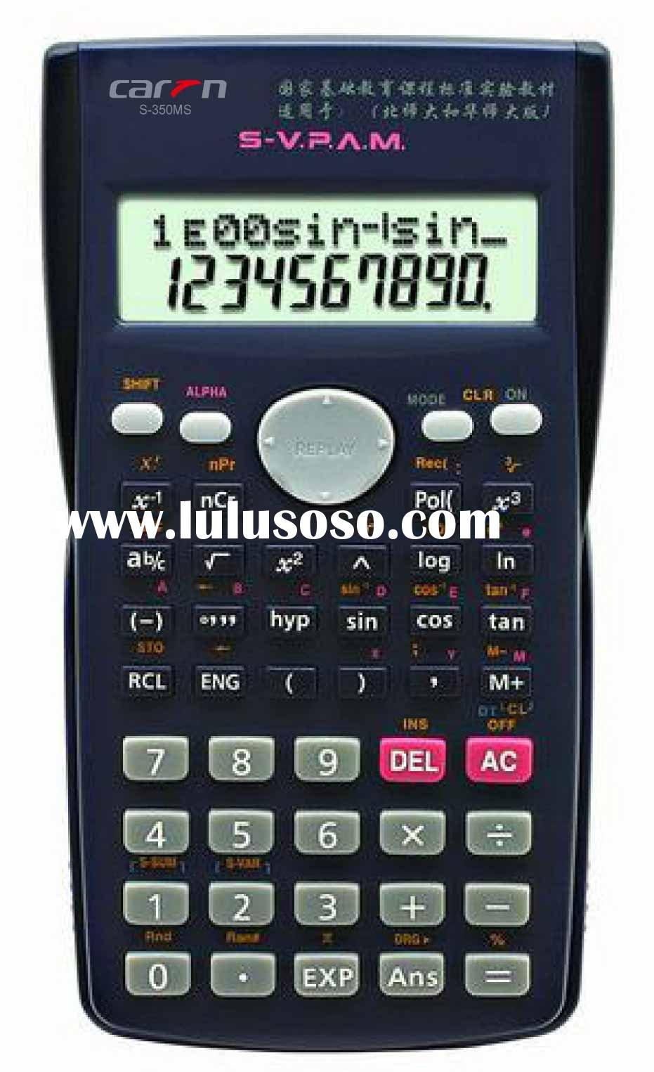 scientific calculator (S-350MS)