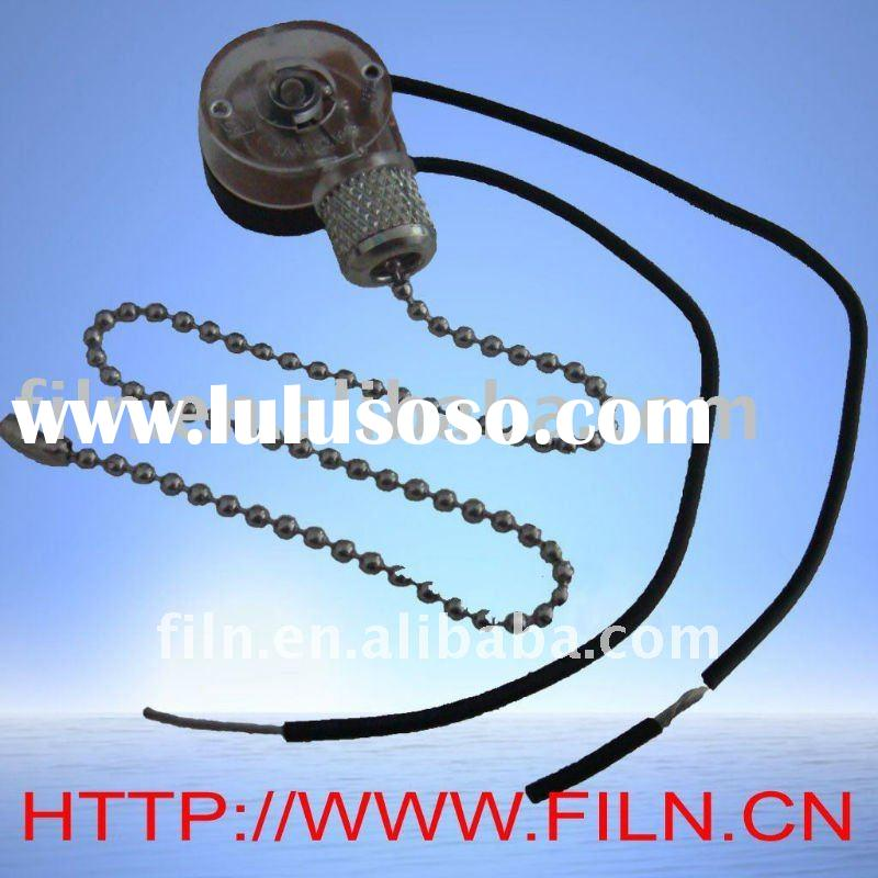 stainless_steel_and_plastic_pull_chain_switch ceiling fan light kit switch wiring diagram lighting fixtures how to wire a pull chain switch diagram at soozxer.org