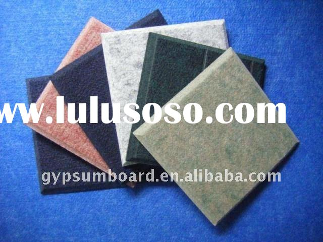 various kinds decorative fabric sound-absorbing wall panel