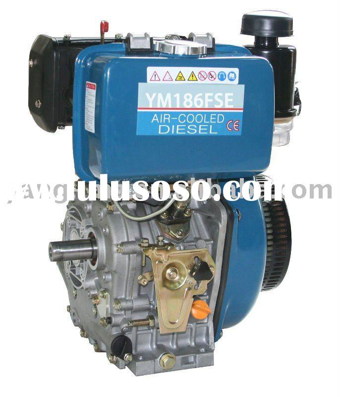 12HP 4-stroke small generator diesel engine