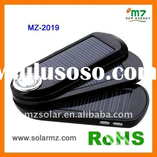 2011 NEW! MZ-2019 solar charger mobile phone for,iPhone, battery packs,mobilephone,camera with CE,RO