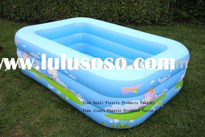 Pics for kids inflatable pool for Bestway vs intex