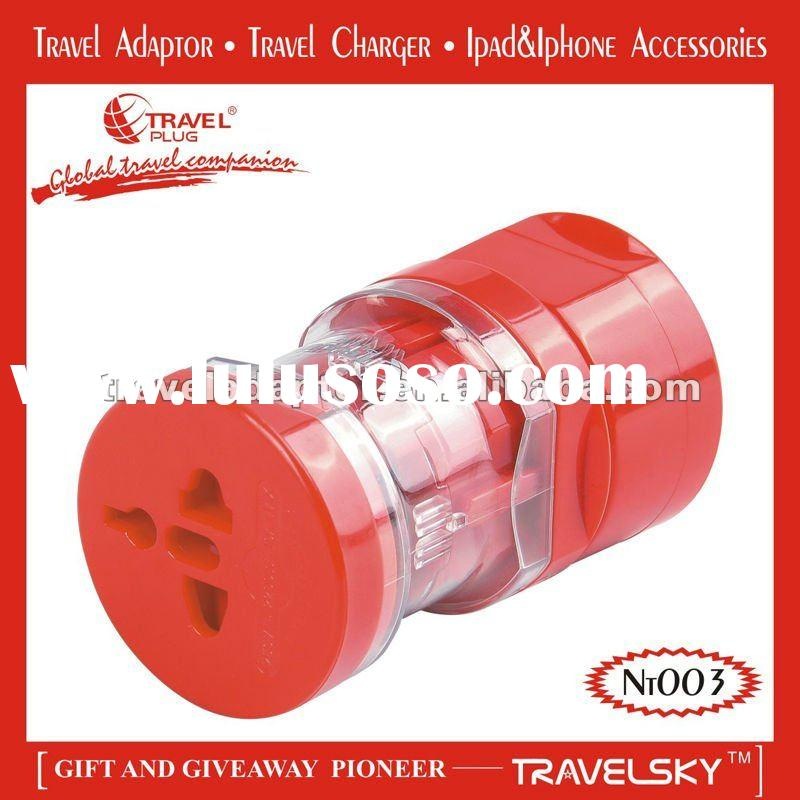 2012 TOP SALE Travel Adapter For Worldwide Use (NT003)
