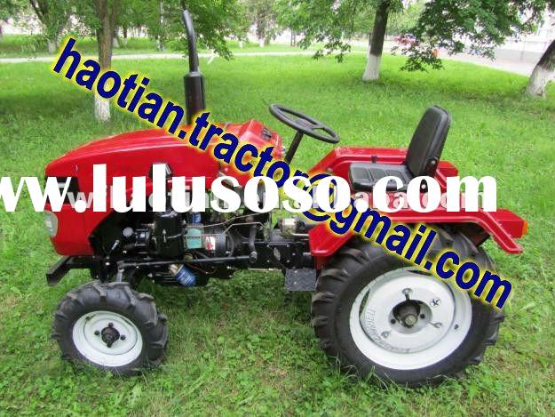 25hp,4wd mini farm tractor,4cylinders,EPA,diesel engine,with Cabin,heater,trailer,front loader,ploug