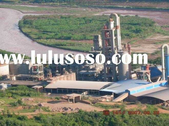 300-12,000 tpd new dry process cement plant