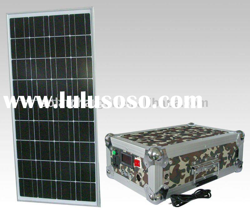30W Portable Solar Power Kit