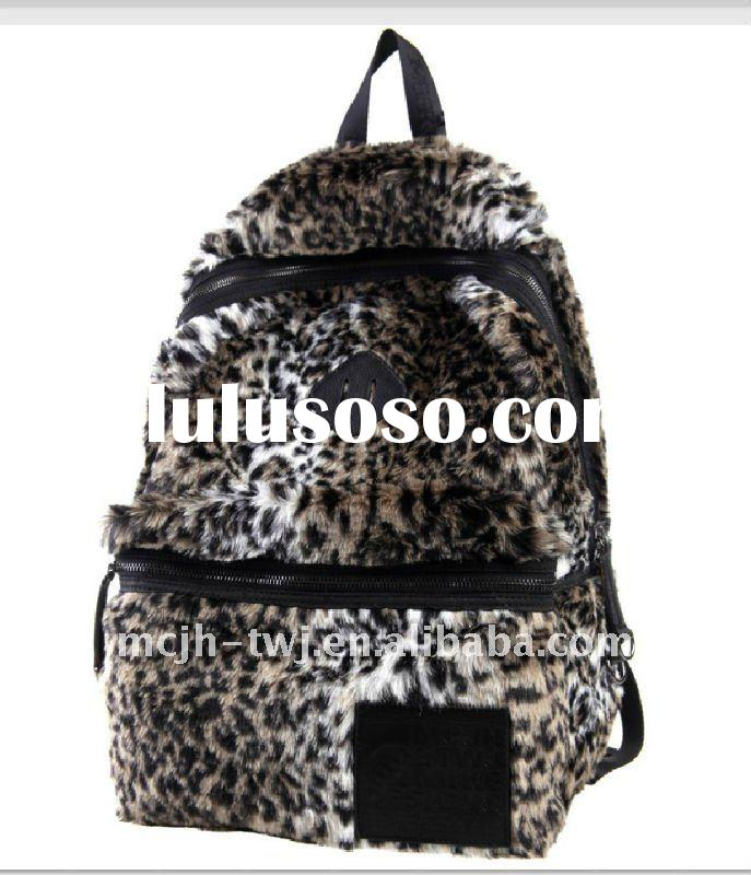 346180 Leopard grain fashion backpack