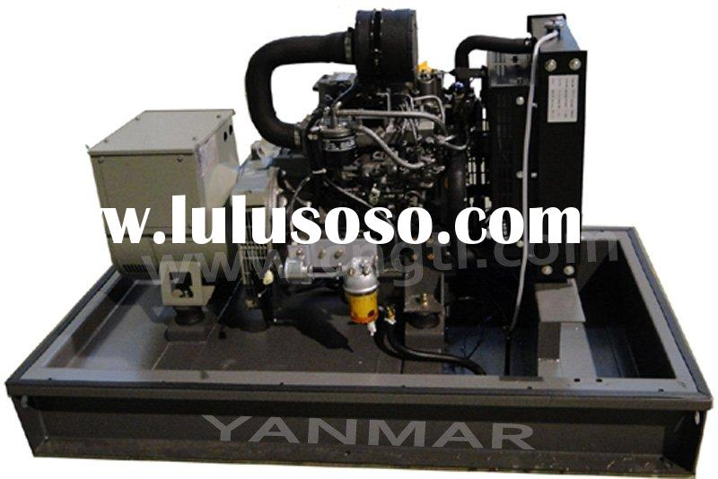 4KW to 65KVA Yanmar diesel generator set with CE and ISO