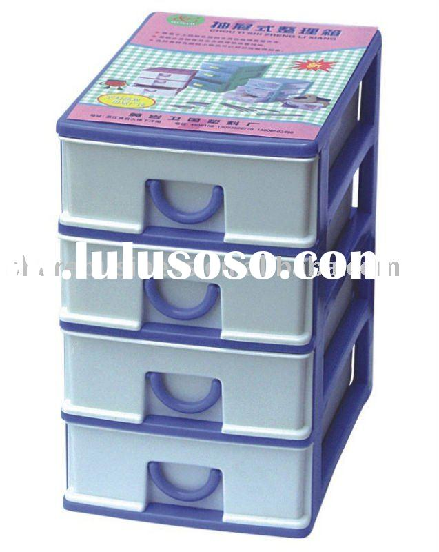 4 drawer storage plastic 2