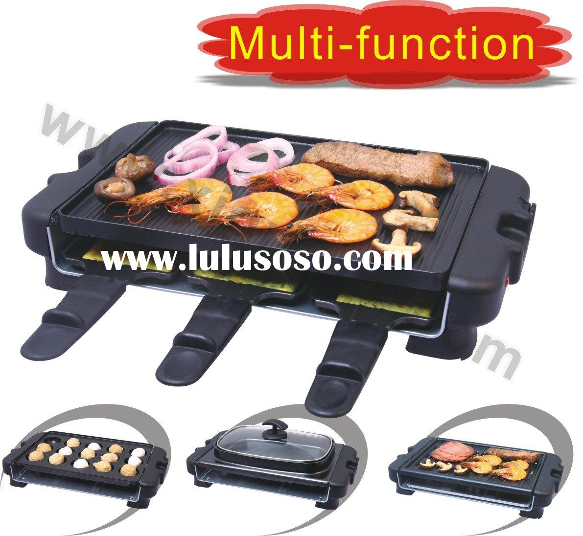 4 In 1 Table Top Electric Grill (XJ 9K114)