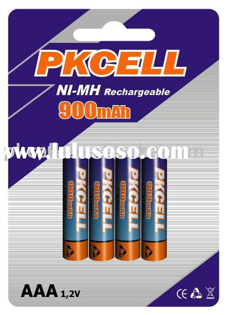 AAA Nimh consumer Rechargeable battery with CE&ROHS certificates