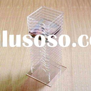 Acrylic CD/DVD Rack,Perspex CD Display SCDR-33