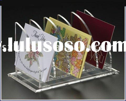 Acrylic CD Holder,Acrylic Storage Box,Plexiglass DVD Box,Lucite Display,Plastic Letter Rack