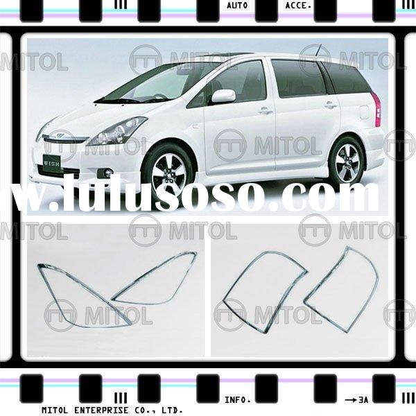 Auto Accessory Chrome Rim For Toyota Wish 04-on, Auto Parts