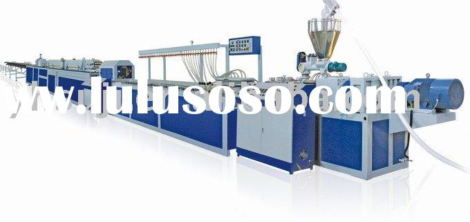 Auto-control PVC Profile production line,PVC Window and Door extrusion line