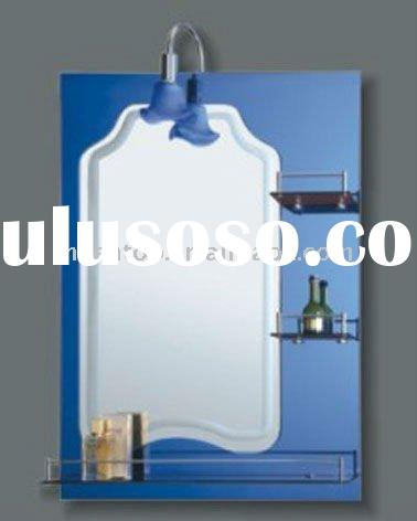 Bathroom Wall Mirror with shelves & light