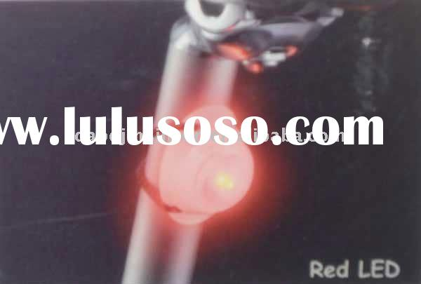 Bicycle led flishing cateye headlamps light,white,red,blue led light to setup/make up your bike