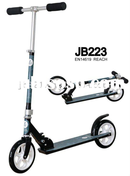 Big Wheels scooter,Full Aluminium,High speed ABEC-5 bearings,PVC wheel(OEM&ODM Available)
