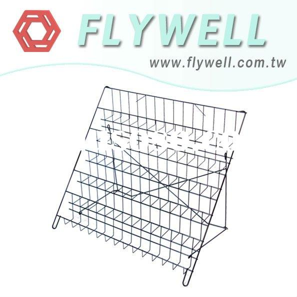 Book Shelf Counter Back - book magazine wire mesh shelf shelves display fixtures racks shop store fi