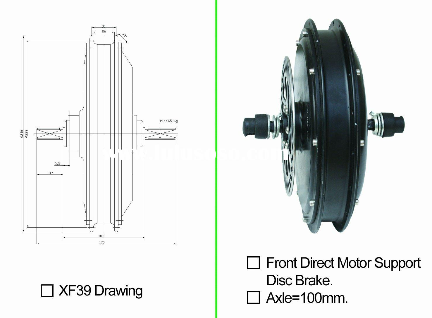 Brushless DC Hub Motor,Brushless Gear High Speed Bicycle Motor