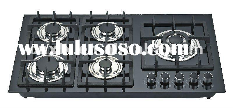 Built in Tempered Glass Gas Hob/Gas Stove/Gas Cooker XLX-9215G-1