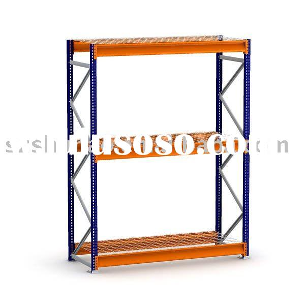 Bulk Rack Shelving Units with Wire Decking