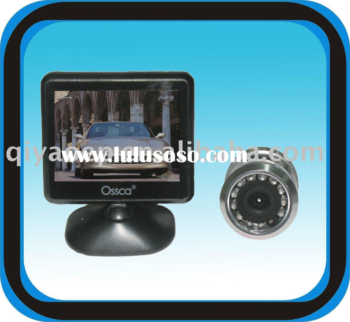 Car Back Up Viewer System with CMOS Waterproof Monitor Automatica Output of Image