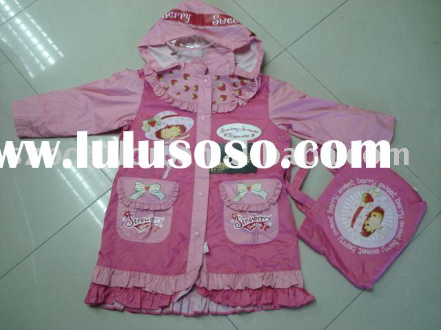 Children rainwear,kids raincoat, kids rainwear